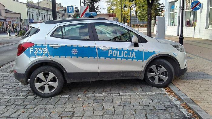 Policja Ostrołęka: Pracownicy Komendy Miejskiej Policji w Ostrołęce pompowali dla Dominika